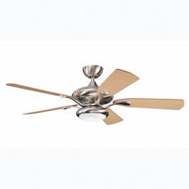 300014BSS Kichler Decorative 52 Inch Aldrin Fan