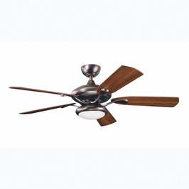 300014OBB Kichler Oil Brushed Bronze 52 Inch Aldrin Fan Aldrin Fans (SPECIAL PRICING!)