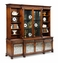 492258 Jonathan Charles Special Order Large églomisé Breakfront Bookcase