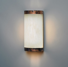 9131 Ultralights Lighting Classics 12-Inch Curved Wall Sconce