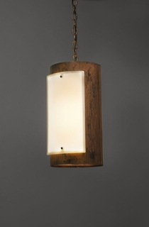9318 Ultralights Lighting Luz Azul Cylinder Shaped Hanging Pendant with Diffusers