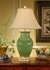 WW7694-R Wildwood Old Green Jar Lamp