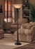 4830 Wildwood Lamps Tri Column Torchiere
