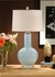 13115 Wildwood Lamps Bottle Blue Lamp