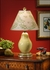 14113 Wildwood Lamps Pear Lamp with Hand Made and Glazed Porcelain