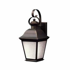 10908OZ Kichler Olde Bronze Outdoor Wall 1Lt Fluorescent Mount Vernon Outdoor