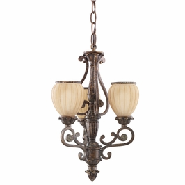 2705BKZ-R Kichler Lighting Glenmont Pendelette in Berkshire Bronze (CLEARANCE ITEM)