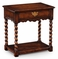 493112 Jonathan Charles Special Order Country Walnut Side Table