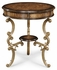 493518 Jonathan Charles Special Order Oyster Round Table On Brass Base