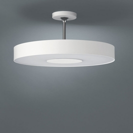 30206/31/48 Philips Lighting Roomstylers Fluorescent Semi Flushmount Ceiling Light in White Finish