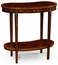 493576 Jonathan Charles Special Order Kidney Mahogany Side Table
