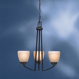 1967DBK Kichler Lighting Lyndon Chandelier in Distressed Brass