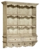 493557 Jonathan Charles Country Farmhouse White Painted Hanging Shelves