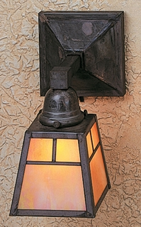 AS-1 Arroyo Craftsman A-Line Shade One Light Wall Sconce