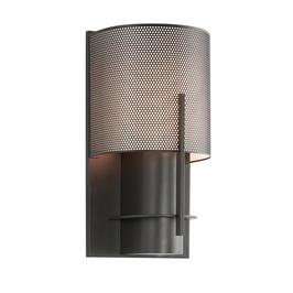 1710.32PF Sonneman Architectural Oberon Sconce in Black Bronze Finish