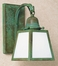 AB-1 Arroyo Craftsman A-Line Shade Wall Sconce