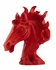10014 Zuo Modern Coppola Poly Horse Head, Matte White