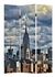 10141 Zuo Modern Skyline Canvas Print Folding Screen