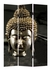 10142 Zuo Modern Buddha Canvas Print Folding Screen