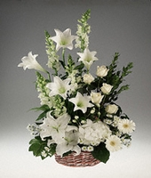 White Flowers - For The Service