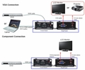 Atlona HDMI to VGA or Component Converter (NOT HDCP) - AT-HD420