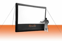 Open Air Home Screen - 14' Inflatable Projection Screen