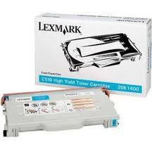 Lexmark Cyan High Yld 6.6K Toner Cart For C510 C510N C510DTN - 20K1400