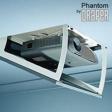 Draper Phantom Motorized Projector Lift