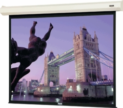 "Da-Lite Cosmopolitan Electrol Electric Projection Screen - 45"" x 80"" - Matte White - 83444"