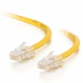 Cables To Go 10ft Cat5E 350 MHz Crossover Patch Cable - Yellow - 26691