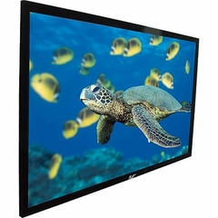 "Elite Screens R84WH1 Wall Mount Fixed Frame Projection Screen (84"" 16:9 AR) (CineWhite)"