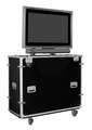 """EZ-LIFT Shipping and Display Lift Case for 50"""" Flat screen with SMART Overlay: 56""""H x 61""""W x 22""""D - ELS-50"""