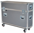 """Jelco Compact Road Case for 46""""-52"""" Flat Screen (No Room for Detached Speakers/Stand) 45""""H x 58""""W x 14""""D JEL-PDP50T1"""