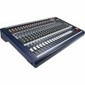 Soundcraft / Spirit MPM202 - 20-Channel, 2-Sub Group Multipurpose Audio Mixer - RW5785US
