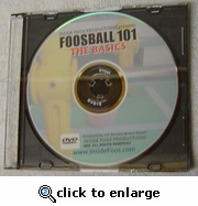 Foosball 101: The Basics DVD