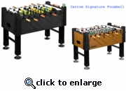 Carrom Signature Burr Oak 525 Table - SHIPPING INCLUDED