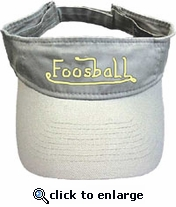 Visor with Tornado Logo-OUT OF STOCK