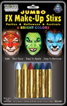 Jumbo FX Make Up Stix - Bright