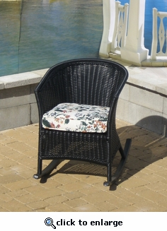 Ebony Resin Rocker (UPS $75) (50% Off!)
