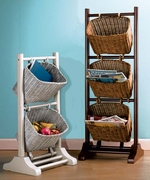 Wicker Basket Racks   Click for Details