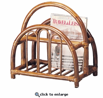 Cathedral Magazine Rack (UPS $30)