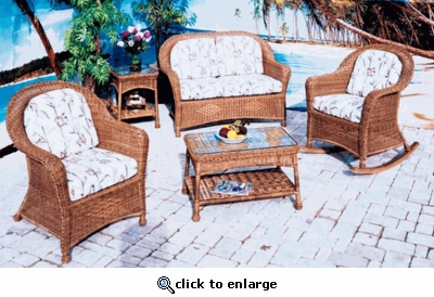Plymouth Chair/Rocker Cushions with Fran's Indoor/Outdoor Fabrics (UPS $25)