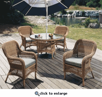 Aquarius Dining Chair Cushions Set of 2 with Fran's Indoor/Outdoor Fabrics (UPS $35)