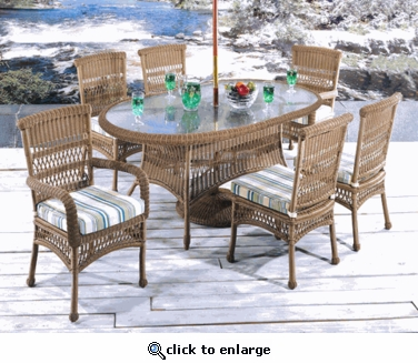 Belvedere Dining Chair Cushion with Fran's Indoor/Outdoor Fabrics (UPS $25)
