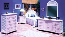 Louver Bedroom Collection