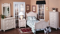 South Pacific Twin Size Bed