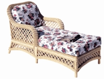 Lanai Chaise Lounge Cushions with Fran's Indoor/Outdoor Fabrics (UPS $45)