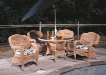 Camelback Dining Chair Cushions Set/2 (UPS $35) with Sunbrella Fabrics