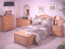 Wicker Bedroom
