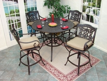 Fire Pits, Heaters, Bar Tables & Stools